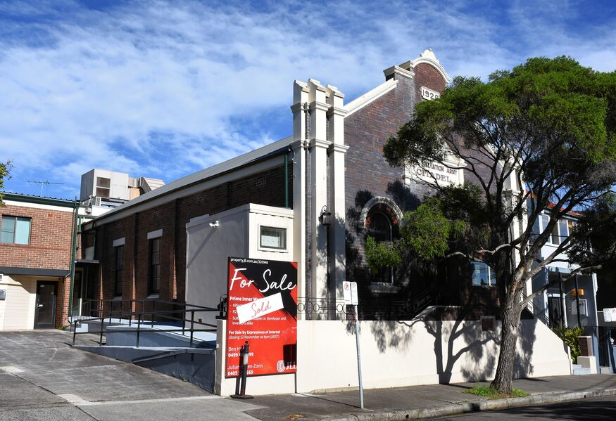 The Salvation Army - Petersham - Former