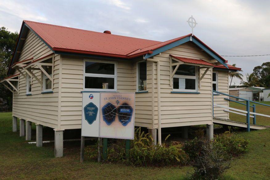 Tin Can Bay Lutheran Church - Meets in Catholic Church Building
