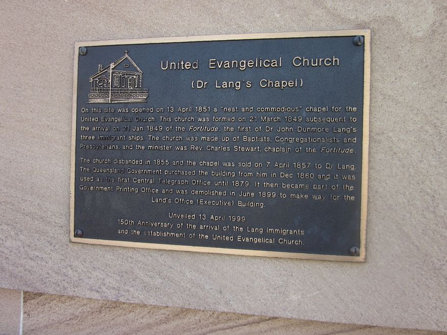 United Evangelical Church - Former