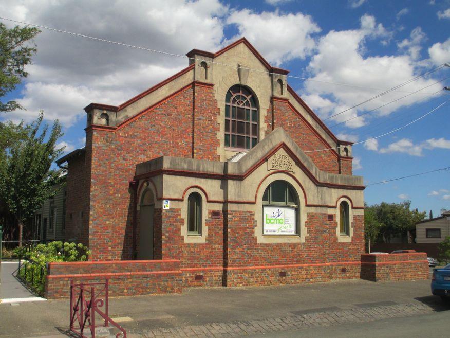 Victoria Street Baptist Church - Former