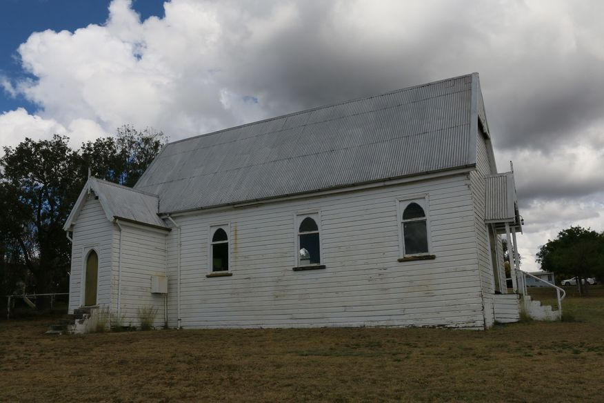 Warialda Anglican Church - Former