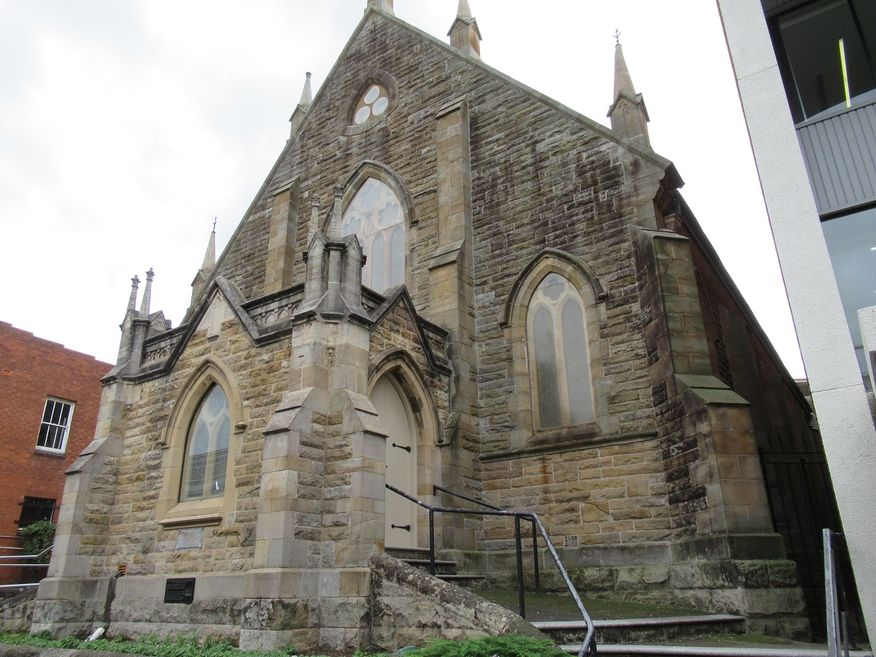 Wesley Uniting Church - The Church on the Mall in Wollongong