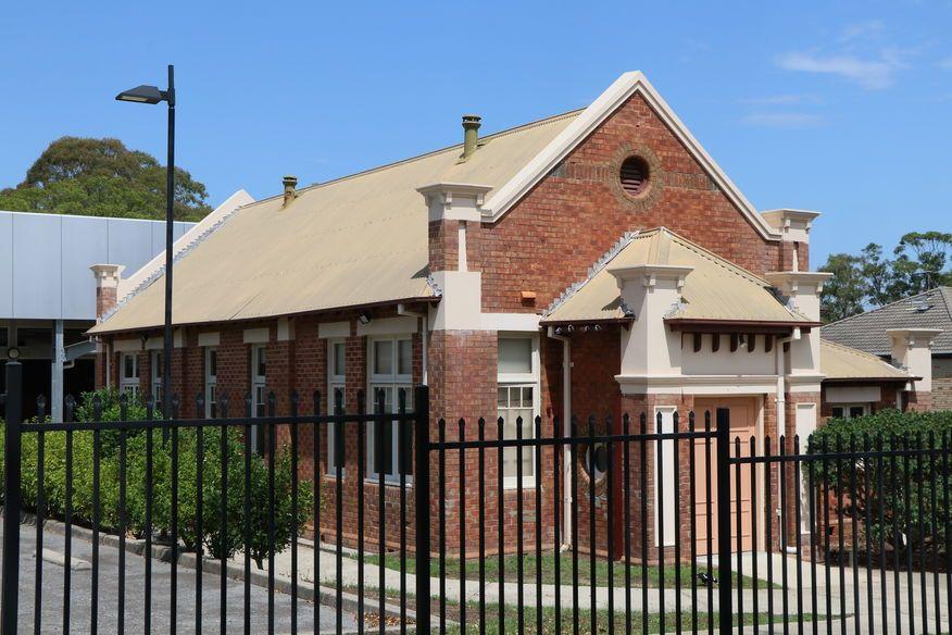 William Street, Raymond Terrace Church - Former