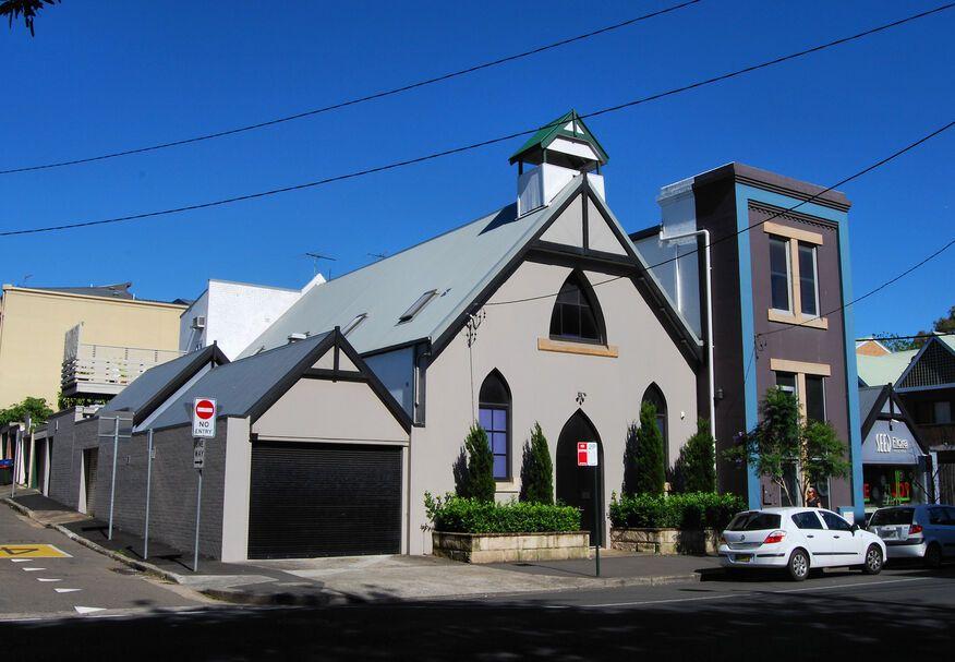Bay Street Catholic Church - Former
