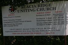 Acacia Ridge Uniting Church 23-01-2017 - John Huth, Wilston, Brisbane