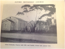 Alford Uniting Church - Former unknown date - Supplied by L Miller - See Note.