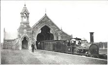 All Saints Anglican Church - Former Rookwood Railway Station. unknown date - Photograph supplied by Steve Kemp