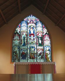 All Saints Anglican Church - Memorial Window unknown date - Ian Bevege