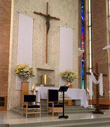 All Saints' Catholic Church 15-04-2020 - Church Facebook - See Note.