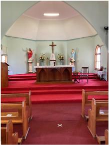 All Saints Catholic Church 00-00-2020 - Photograph supplied by Frank Curtain