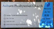 Auburn Presbyterian Church 10-01-2021 - Peter Liebeskind