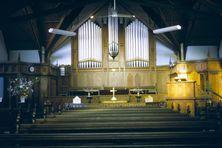 Bairnsdale Methodist Church - Pipe Organ built in 1935 00-00-1967 - Bruce Walker