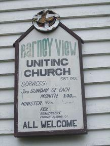 Barney View Uniting Church 14-01-2009 - John Huth   Wilston   Brisbane
