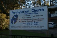 Batemans Bay Presbyterian Church 28-04-2017 - John Huth, Wilston, Brisbane.
