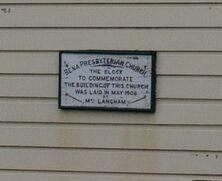 Bena Presbyterian Church - Former 05-09-2012 - Derek Flannery