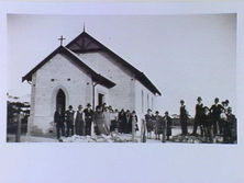 Bethlehem Lutheran Church - Former 00-00-1935 - Printed by State Library of Victoria in 1992 from a 1935 pho