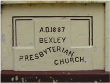 Bexley Presbyterian Church 00-00-2010 - Louise Thom & Assoc - Rockdale Council - See Note.
