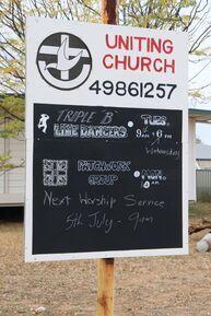 Blackwater Uniting Church 21-07-2020 - John Huth, Wilston, Brisbane