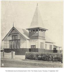 Bracknell Uniting Church - Former 21-09-1922 - churchesoftasmania - See Note.