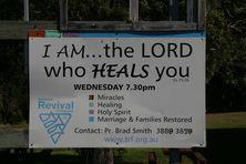 Brisbane Revival Fellowship - Notice Board 29-07-2018 - John Huth, Wilston, Brisbane
