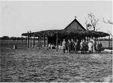 Bush School - Adavale - Former 00-00-1910 - Picture Queensland, State Library of Queensland - Bonzle.com