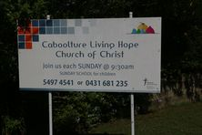 Caboolture Living Hope Church of Christ 18-03-2017 - John Huth, Wilston, Brisbane.