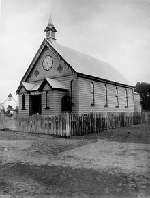 Cairns Primitive Methodist Church - Former 00-00-1915 - John Oxley Library, State Library of Queensland