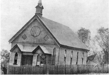 Cairns Primitive Methodist Church - Former - After Cyclone Damage 00-01-1906 - John Oxley Library, State Library of Queensland