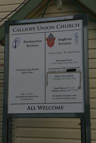 Calliope Union Church 09-10-2014 - John Huth, Wilston, Brisbane