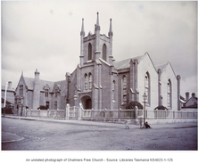 Chamber's Free Church, Hobart - Former