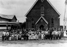 Charters Towers Church of Christ - Former 15-06-1930 - Robenson and Barrett, Art Photographers - S