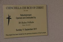 Chinchilla Church of Christ 01-11-2016 - John Huth, Wilston, Brisbane