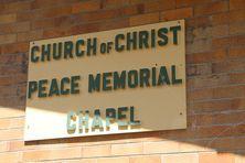 Church of Christ Peace Memorial Chapel 24-01-2016 - John Huth,  Wilston,  Brisbane