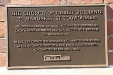 Church of Christ Toowoomba - Former 30-12-2015 - John Huth,   Wilston,   Brisbane