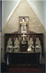 Church of St Alban Liberal Catholic - Former - Altar & Sanctuary 25-11-1990 - L Langley