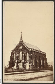 Clayton Wesley Uniting Church - Original Building 00-00-1865 - Unknown - See Note 1.