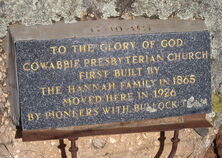 Cowabbie Presbyterian Church - Former 00-01-2007 - Virtual Steve - See Note.
