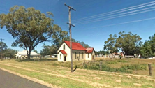Curlewis Anglican Church - Former