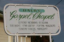 Dalby Gospel Chapel 28-10-2016 - John Huth, Wilston, Brisbane