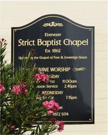 Ebenezer - Strict Baptist Chapel 23-04-2018 - Peter Liebeskind