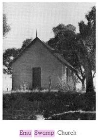 Emu Swamp Methodist Church - Former 00-00-1900 - See Note 1 - p18