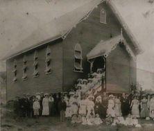 Eumundi Methodist Church - Former - Opening in 1911 From Heritage Notice Board. 17-09-2017 - John Huth, Wilston, Brisbane