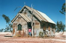 "Film Set -""Lightning Ridge Church"""