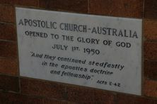 Fortitude Valley Apostolic Church  Former 06-03-2016 - John Huth Wilston Brisbane