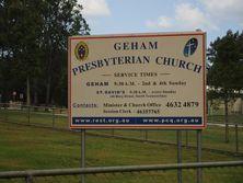 Geham Presbyterian Church 15-04-2016 - John Huth, Wilston, Brisbane