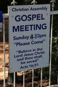 Gospel Assembly 13-03-2019 - John Huth, Wilston, Brisbane