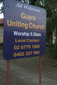 Guyra Uniting Church 13-08-2018 - John Huth, Wilston, Brisbane