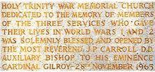 Holy Trinity War Memorial Church 12-07-2002 - Alan Patterson