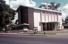 John Flynn Memorial Church 00-00-1972 - Photograph supplied by John Huth, Wilston, Brisbane