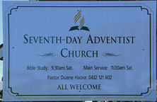 Katoomba Seventh-Day Adventist Church 22-10-2019 - Peter Liebeskind